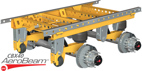 Products Trailer Axles And Suspension Systems Air Sliding Frame Suspensions Saf Cbx40 Aerobeam Auto Posilift Saf Holland