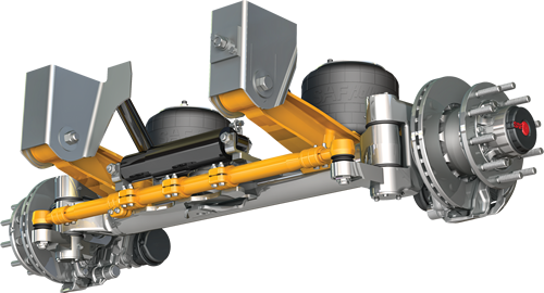 Semi Steering System : Products gt trailer axles and suspension systems air